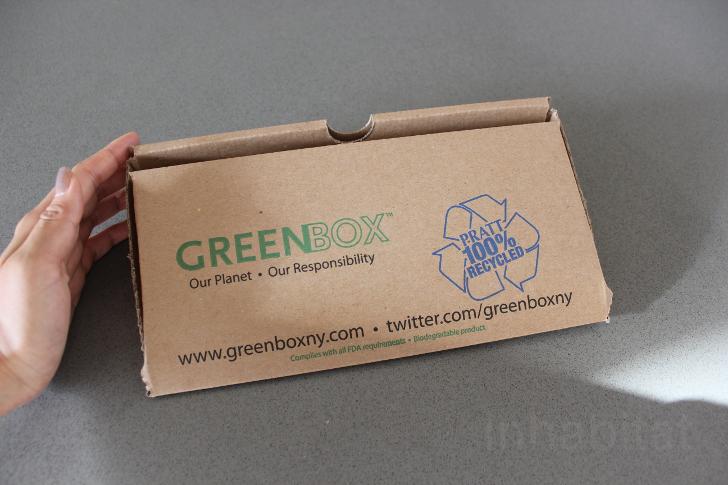Caja pizza reutilizada