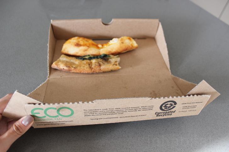Caja pizza para sobras