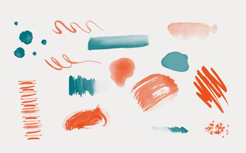 Trazos de pintura - Laia Vives